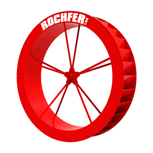 Roda D'água 1,65 x 0,36 m - Série B