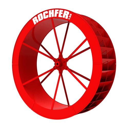 Roda D'água 1,65 x 0,47 m - Série c