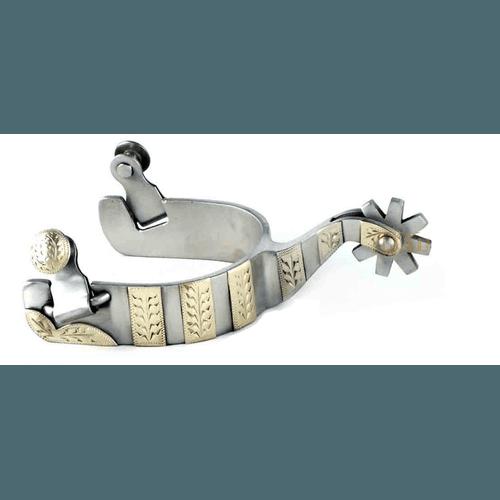 Espora Importada em Aço Inoxidável 6726 - Cavalaria Shop