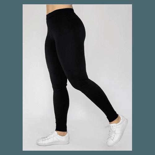 Calça K2B Legging Cós Normal - 4cm - PRETA - 00930... - LOJA TUTTI FRUTTI