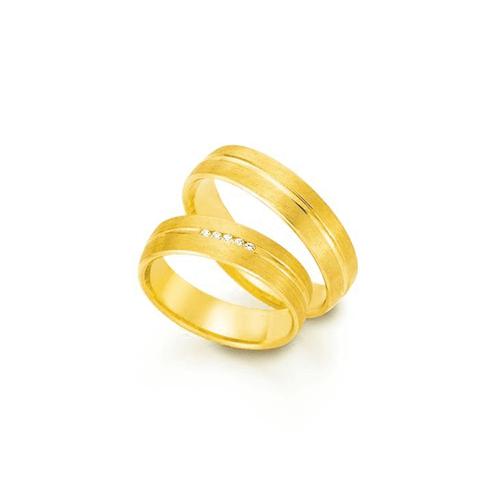 Par de Alianças de Casamento Valência em Ouro 18k ... - NORTHOFF - Sonhos em Ouro 18k!