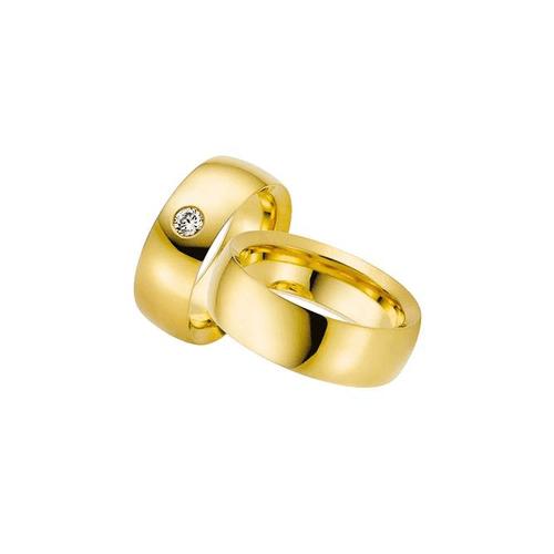 Par de Alianças de Casamento Talim em Ouro 18k Com... - NORTHOFF - Sonhos em Ouro 18k!