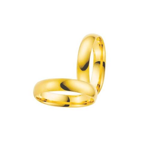 Par de Alianças de Casamento Bonn em Ouro 18k - 18... - NORTHOFF - Sonhos em Ouro 18k!