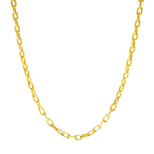 Corrente Masculina Cartier Tipo P em Ouro 18k - NORTHOFF - Sonhos em Ouro 18k!