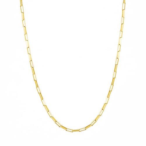 Corrente Masculina Cartier Tipo G em Ouro 18k - NORTHOFF - Sonhos em Ouro 18k!