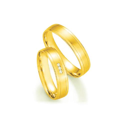 Par de Alianças de Casamento Baku em Ouro 18k com ... - NORTHOFF - Sonhos em Ouro 18k!