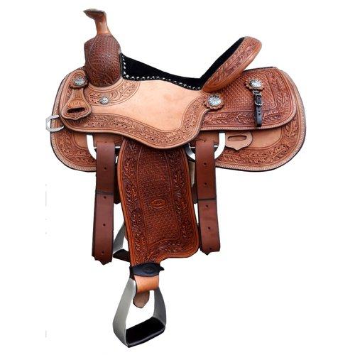 Sela Artesanal para Team Roping - Pro Horse