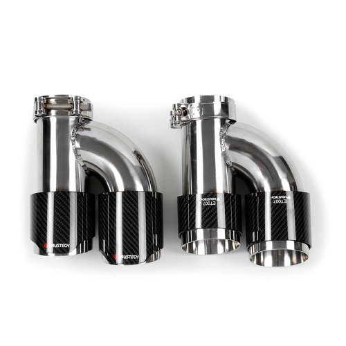 Ponteira Dupla Haustech Carbon . 3,0/3,5 Pol