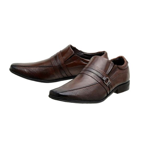 82b8a2f18 Sapato Masculino Social Fortaleza Couro Marrom