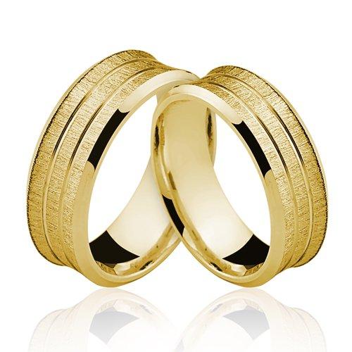 Alianças de Ouro 18k/750 AL122