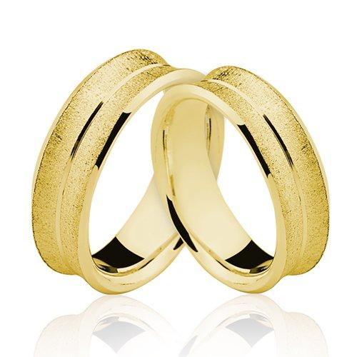 Alianças de Ouro 18k/750 AL126