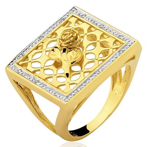 Anel de Ouro 18k/750 AN96