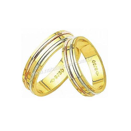 Alianças de Ouro 18k/750 AE14