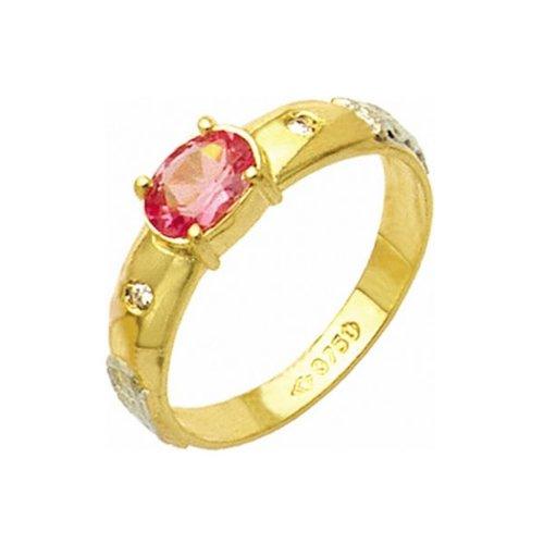 Anel de Formatura em Ouro 18k/750 com Diamante ANF27