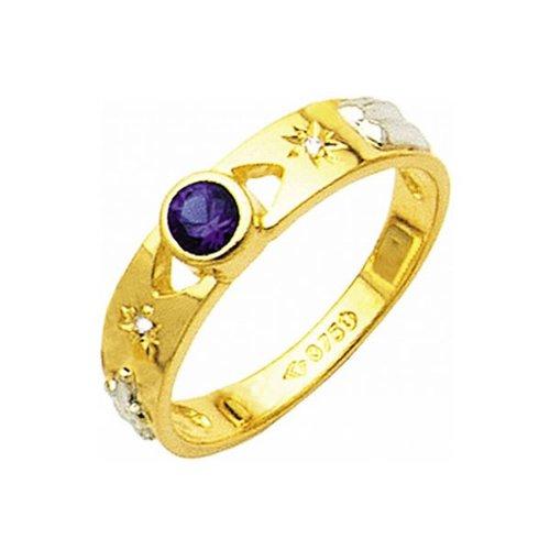 Anel de Formatura em Ouro 18k/750 com Diamante ANF18