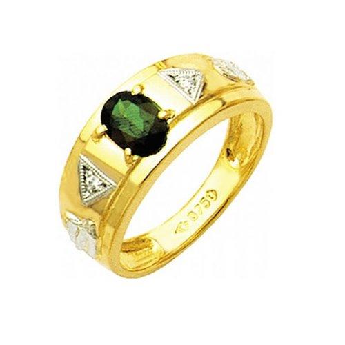 Anel de Formatura em Ouro 18k/750 com Diamante ANF19