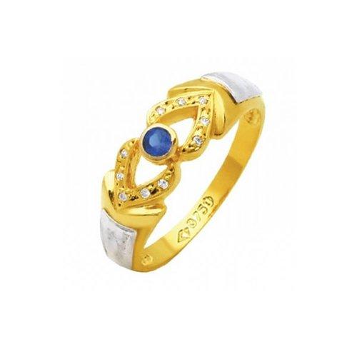 Anel de Formatura em Ouro 18k/750 com Zirconia ANFO62