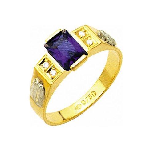 Anel de Formatura em Ouro 18k/750 com Diamante ANF14