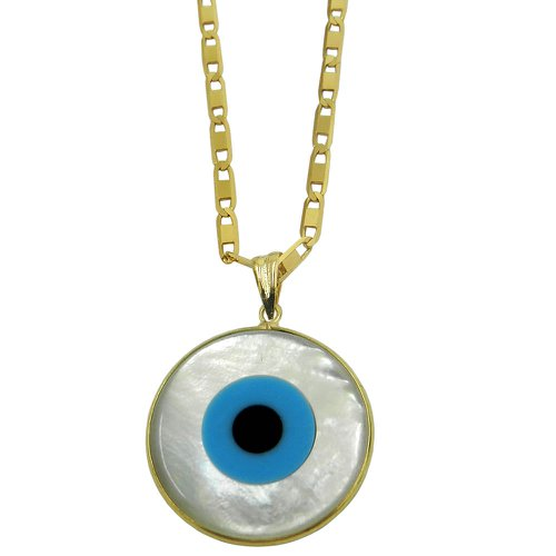 Pingente de Ouro Olho Grego Grande