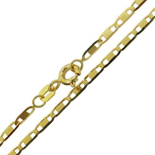 Corrente de Ouro Masculina Piastrine 70 cm
