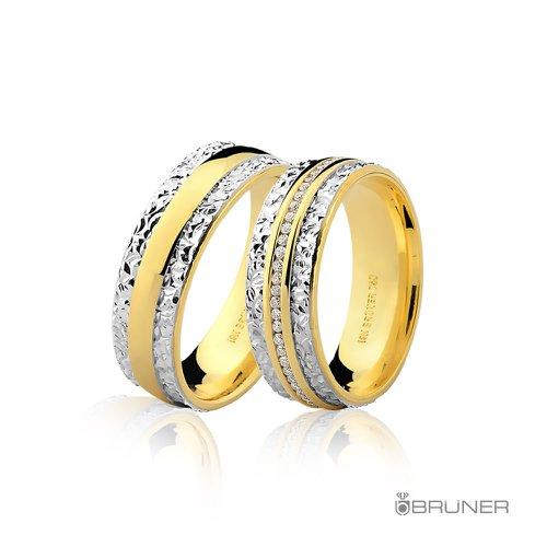 Alianças de Casamento em ouro 18k 0,750