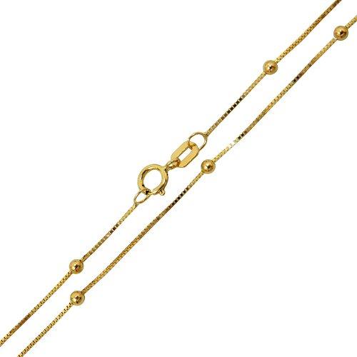 Corrente Veneziana Terço em Ouro 18k 0,750 60cm