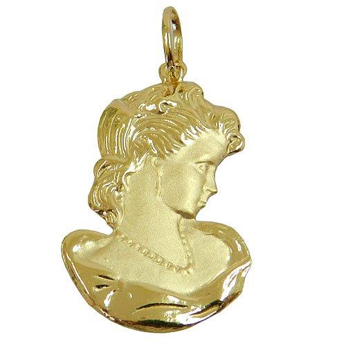 Pingente de Camafeu em Ouro 18k Grande