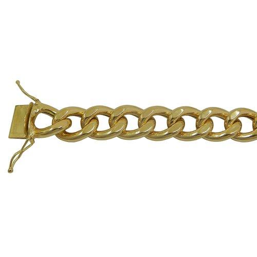 Pulseira em Ouro 18k Masculina Grumet