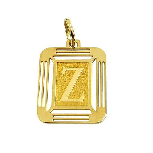 Letra Z em Ouro 18K