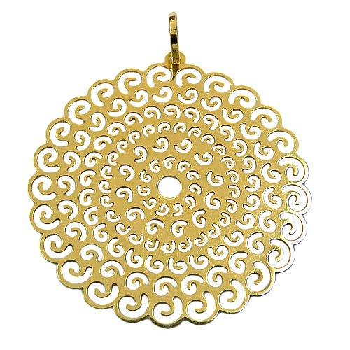 Pingente Mandala de Ouro 18K