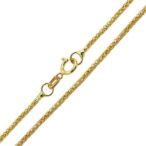 Corrente Feminina em ouro 18K Design Italiano 45cm