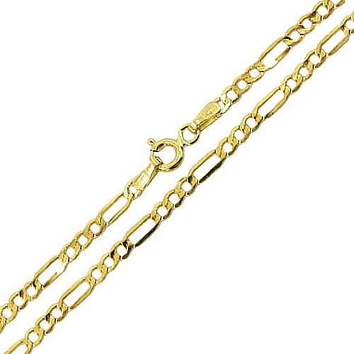 Corrente de Ouro Fígaro Masculina 5.4g