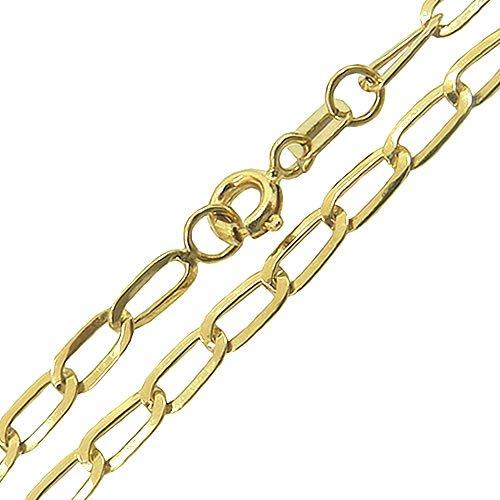 Correntes de Ouro Cartier Batida 18K Masculinas Chapadas 70cm