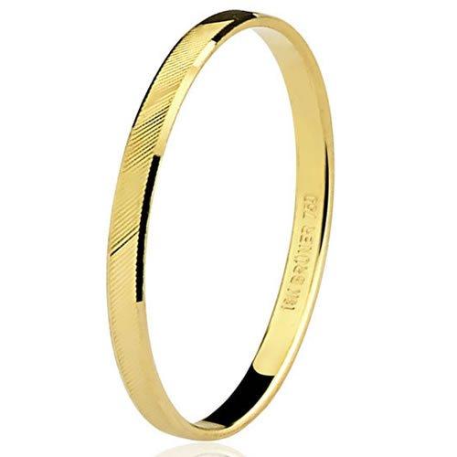 Aliança de noivado ou casamento em ouro 18K Preço Baixo