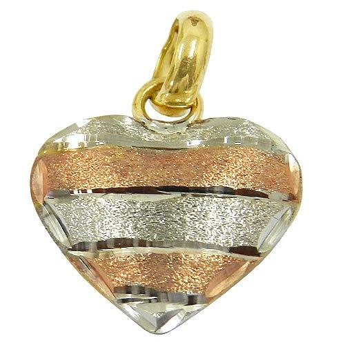 Pingente Coração em Ouro