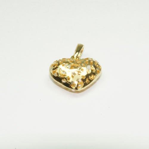 Pingente Coração de Ouro