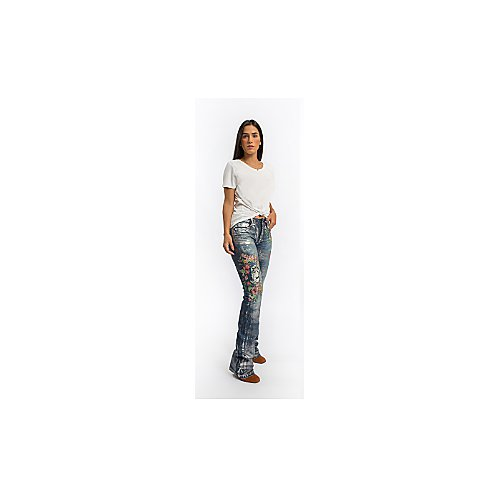 CALCA RUBY CUTTER JEANS DELAVE