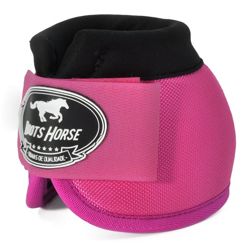 Cloche Boots Horse Pink