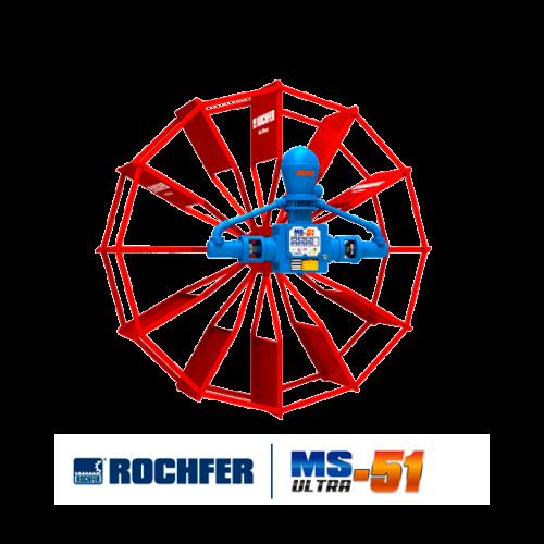 Bomba MS ULTRA-51 + Roda 1,65 x 0,48 m Pás Planas