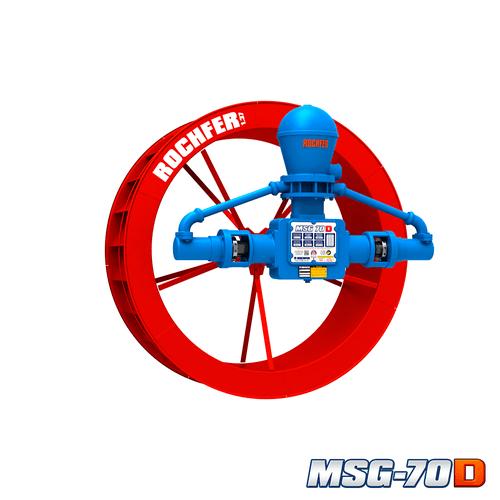 Bomba MSG-70D + Roda 1,37 x 0,47 m