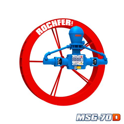 Bomba MSG-70D + Roda 1,65 x 0,25 m