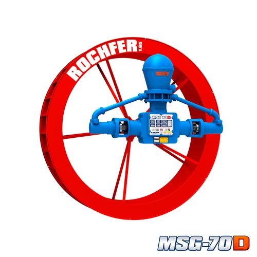 Bomba MSG-70D + Roda 1,65 x 0,36 m