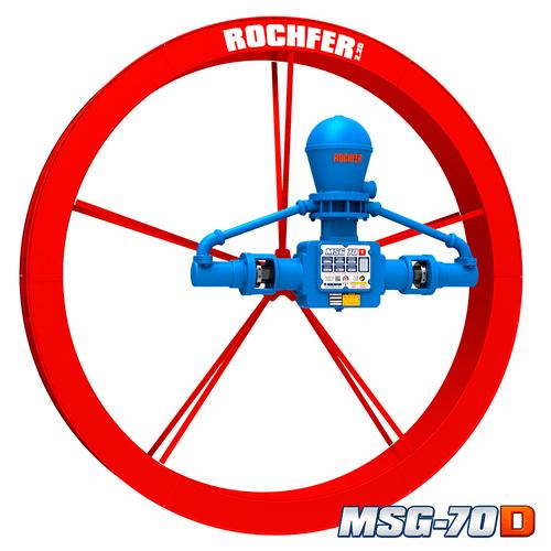 Bomba MSG-70D + Roda 2,20 x 0,25 m