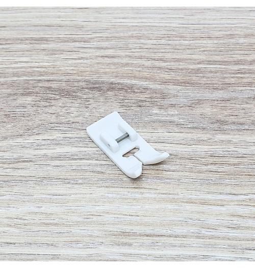 Calcador Teflon para máq. doméstica (branco)