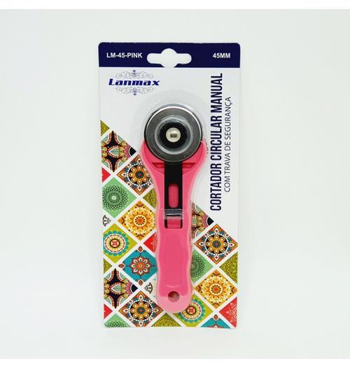 Cortador Circular manual com trava 45mm - Pink