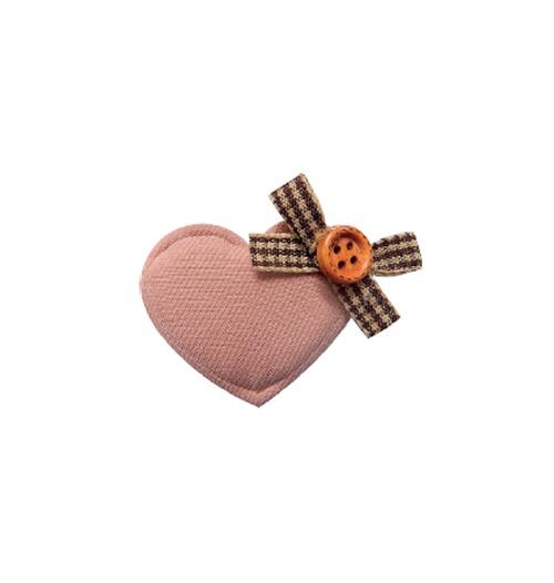 Aplique Luxo Amore - Rosê (pacote com 5 unidades)