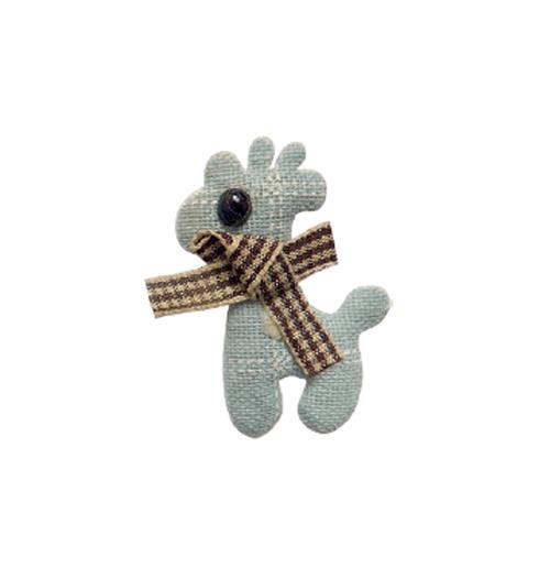 Aplique Luxo Giraffe - Azul Claro (pacote com 5 unidades)