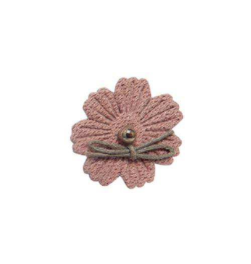 Aplique Luxo Margarida - Rosê (pacote com 5 unidades)