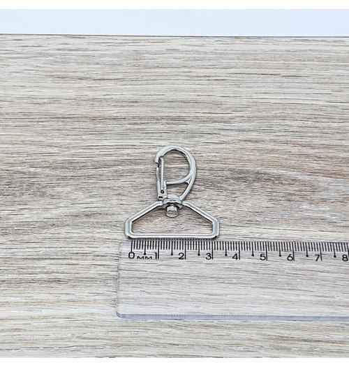 Mosquetão 30 mm - Niquelado