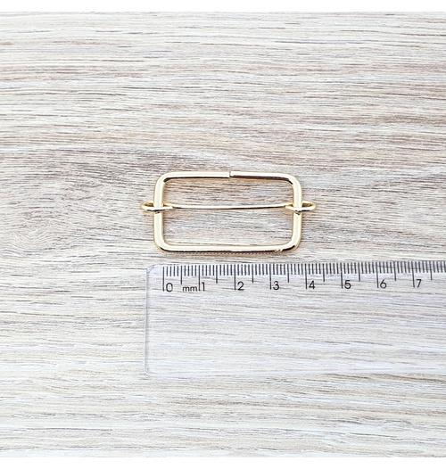 Regulador para alça 36 mm - Dourado